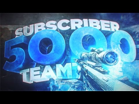 23rd: 5,000 Subscriber Teamtage - By Degree, DFend and Wasni