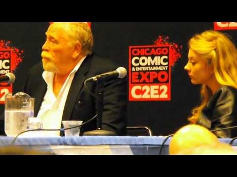 Game of Thrones panel at C2E2 2013 with James Cosmo and Natalie Dormer