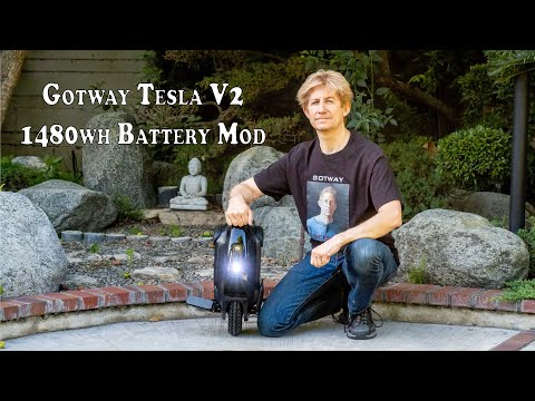 Gotway Tesla With Modded 1480wh Battery