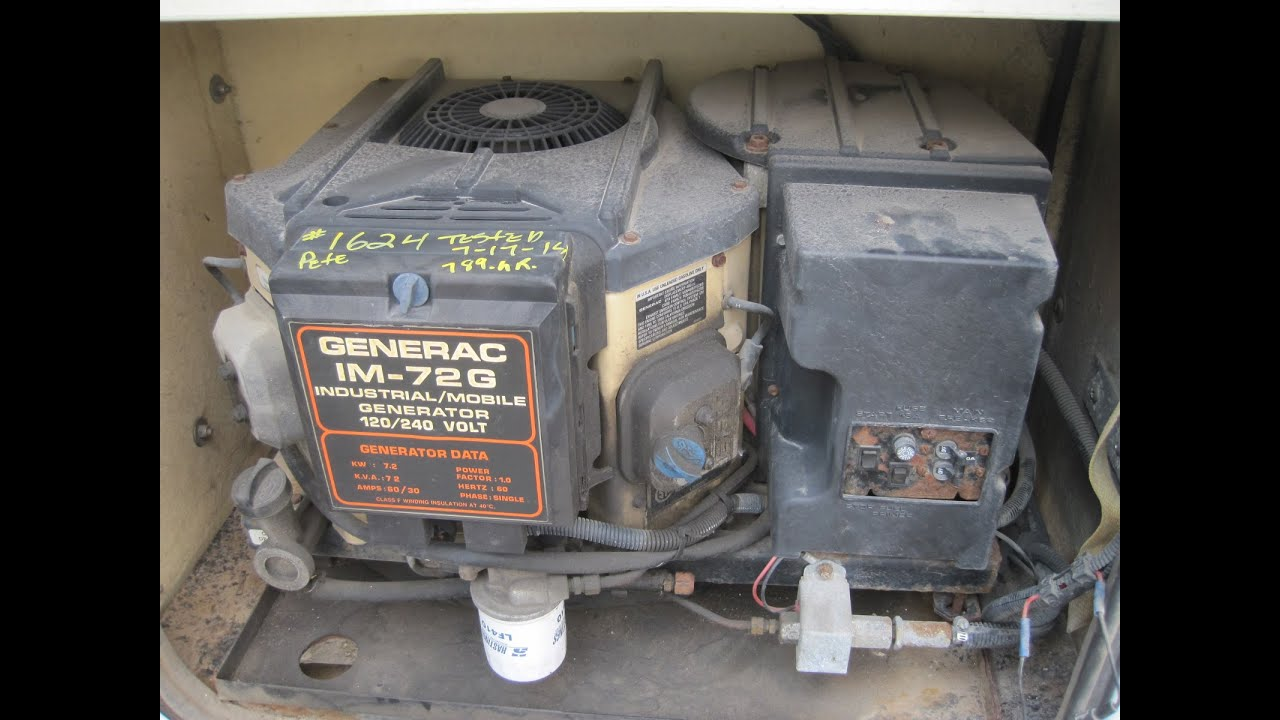 Generac 7200 Watt Lower Rpm Generator Sold See What You