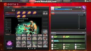 Dota 2 - 2014 Compendium Immortal Strongbox Rewards Preview