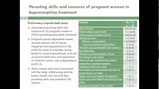 Parenting and Concerns of Pregnant Women in Buprenorphine Treatment