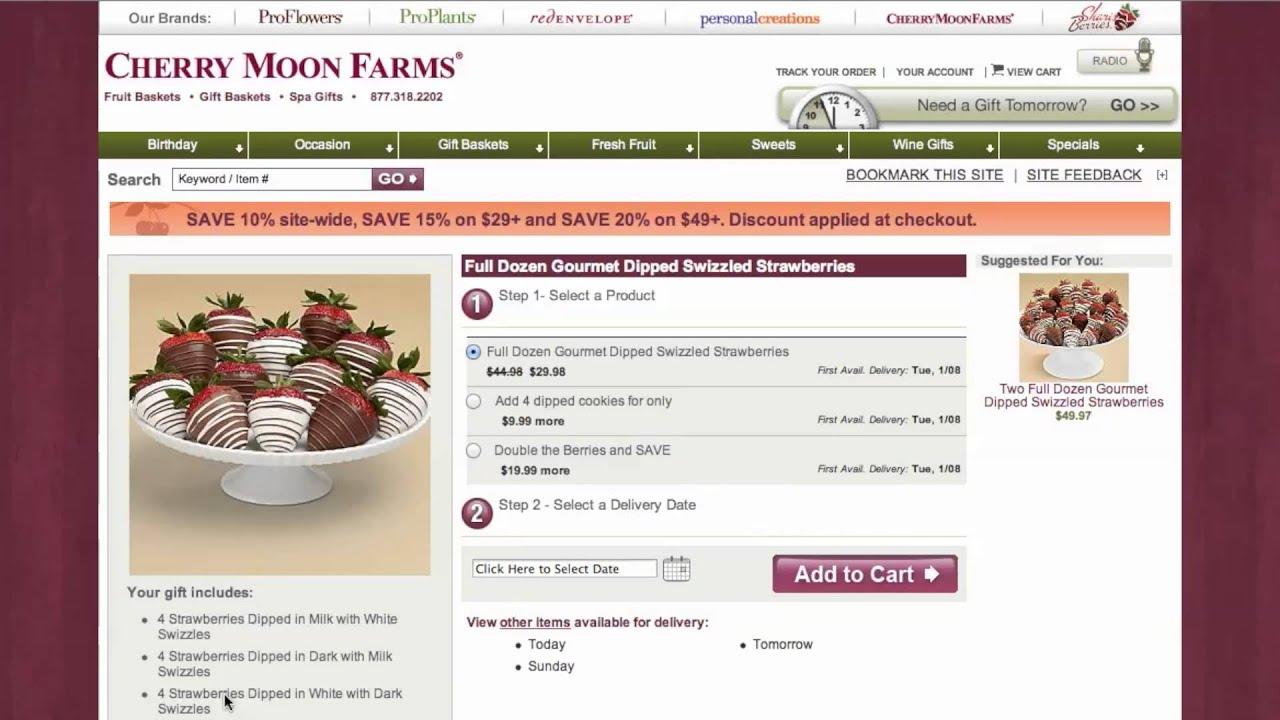 coupon code cherry moon farms