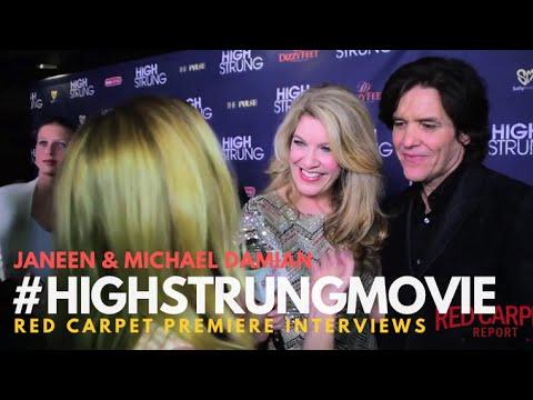 "Janeen & Michael Damian, Creators #HighStrungMovie interviewed at Premiere for ""High Strung"""