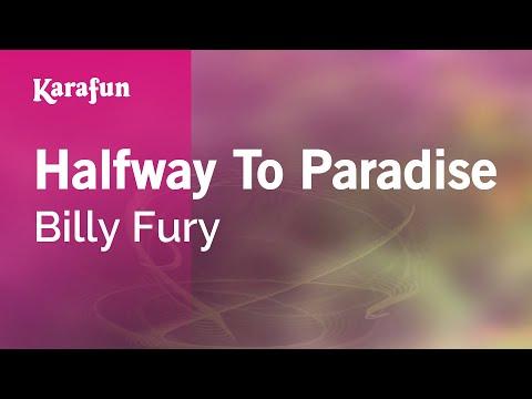 Karaoke Halfway To Paradise - Billy Fury *