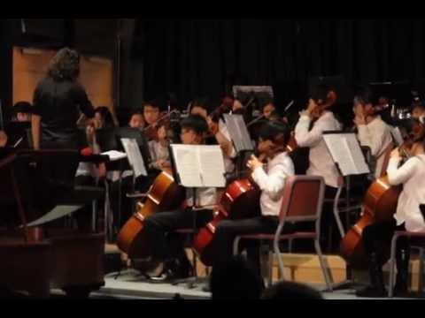 Handel - Passacaglia, performed by Tenakill Middle School Orchestra, Closter, NJ