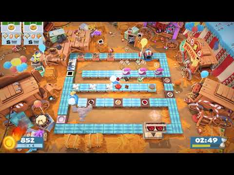 (1player) Overcooked2 Carnival of Chaos 3-1 [score: 2700] |