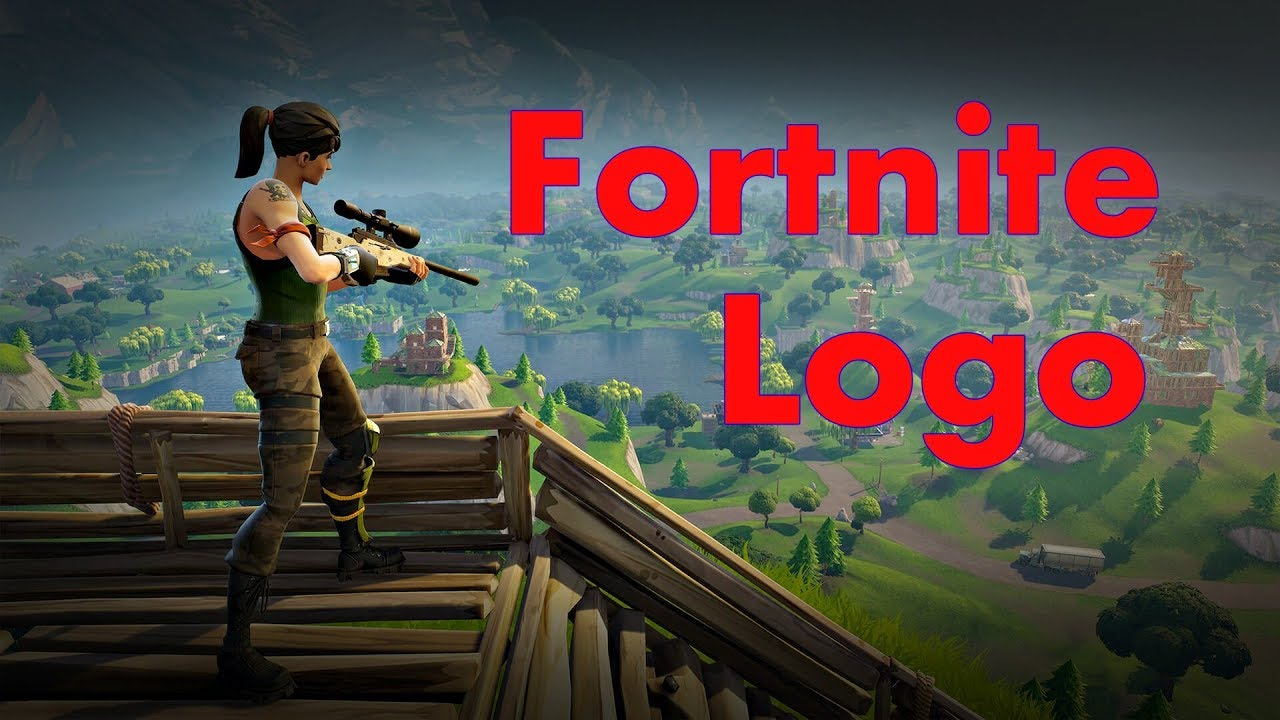 How To Draw A Fortnite Battle Royale Logo Very Easy Youtube