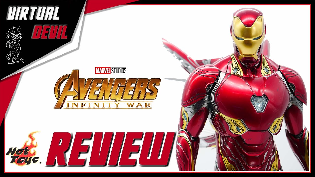 HOT TOYS - IRON MAN MARK L 50 - INFINITY WAR !!! UNBOXING & REVIEW !!