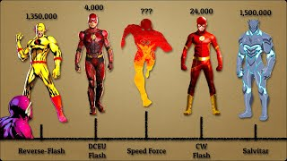 The Most Powerful Versions of The Flash