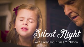 Silent Night - Claire Crosby with Russell M. Nelson, President of the Church of Jesus Christ