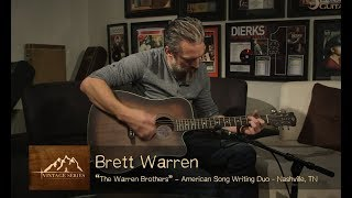 Vintage Dreadnought Cutaway A/E Ft. The Warren Brothers | Luna Guitars