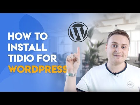 Getting Started with Tidio Live Chat - How to install Tidio for WordPress