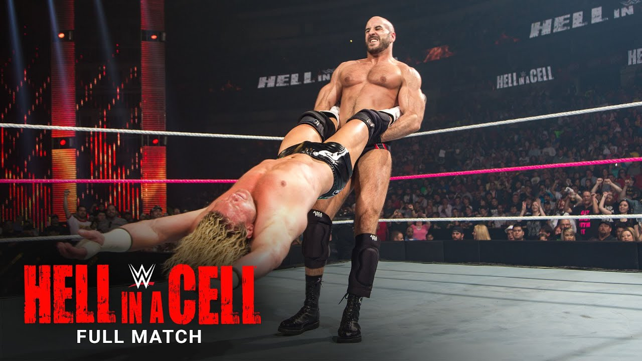 FULL MATCH - Ziggler vs. Cesaro - Intercontinental Title 2-Out-Of-3 Falls Match: Hell in a Cell 2014