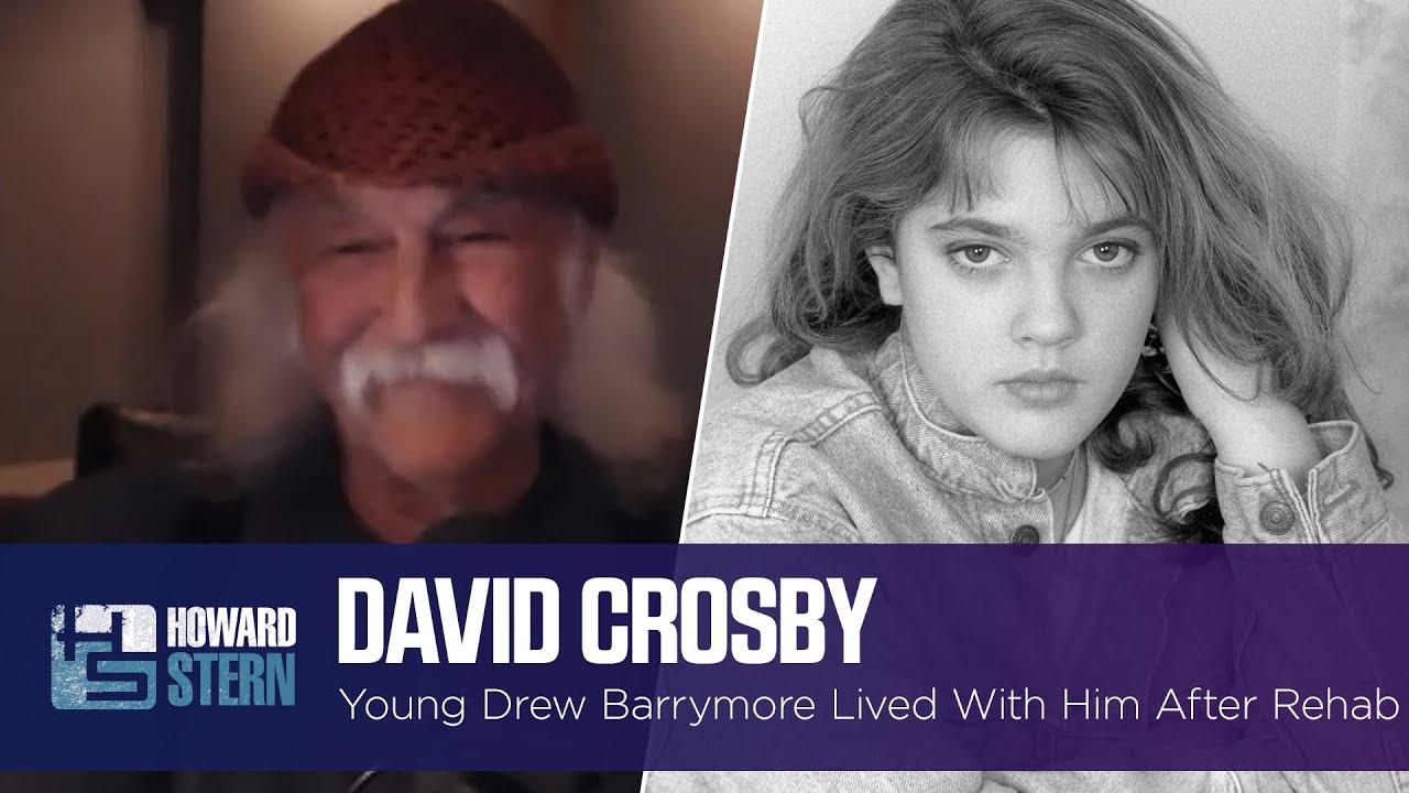 David Crosby Took In 14-Year-Old Drew Barrymore After Her Time in Rehab