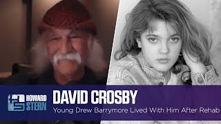 Download David Crosby Took In 14-Year-Old Drew Barrymore After Her Time in Rehab