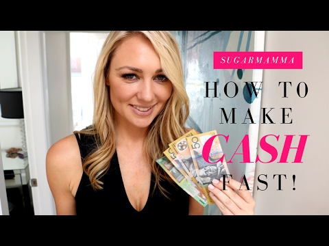 How To Make Money Fast! 20 Ideas For Quick Cash!