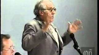 Gustavo Bueno, España, 14 de abril de 1998