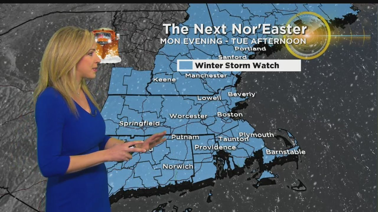 WBZ Afternoon Forecast For March 11