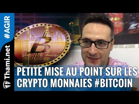Petite mise au point sur les crypto monnaies #bitcoin