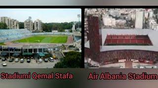 Gambar cover Nga stadiumi Qemal Stafa tek Air Albania Stadium