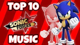 Top 10 BEST Sonic Forces Music Tracks