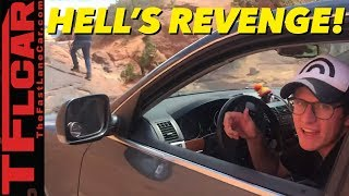 Behind the Scenes: Does The VW Touareg Make Hell's Revenge Look Easy?