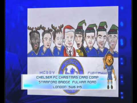 Chelsea Fc Christmas Card Competition Youtube