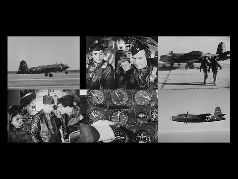 How to Fly the Martin B-26 Marauder in HD (1944- Restored)