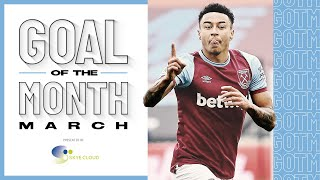 LINGARD v ARSENAL & ACADEMY STRIKES | GOAL OF THE MONTH MARCH