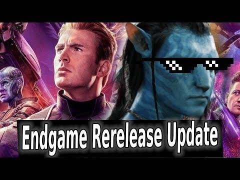 Avengers Endgame Rerelease Goes International: Enough to Beat Avatar?
