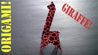 Origami Daily - 572: Giraffe - Tcgames [hd]