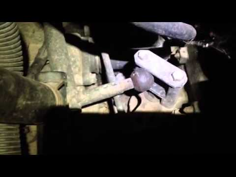 VW T4 Gear selector bushing FAIL  YouTube