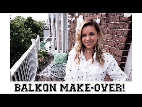 BALKON een MAKE-OVER GEVEN!