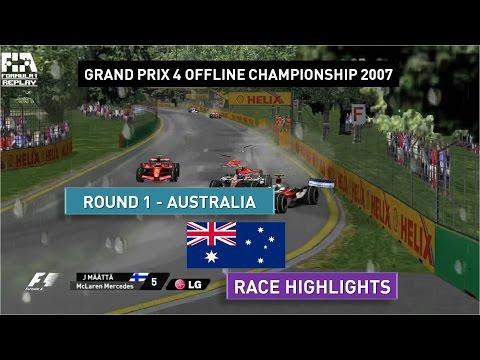 Grand Prix 4 OC 2007   Round 1   Australia   Race Highlights