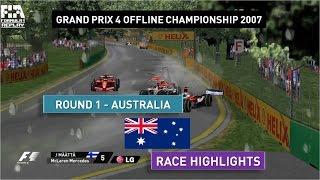 Grand Prix 4 OC 2007 | Round 1 | Australia | Race Highlights