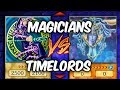 DARK MAGICIAN vs TIME LORDS (Yu-gi-Oh Competitive Deck Duel)