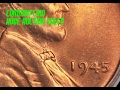 WILD 1945 Lincoln Wheat Cent Sells for Over $3,300!  How Can This Common Date Sell for so Much??