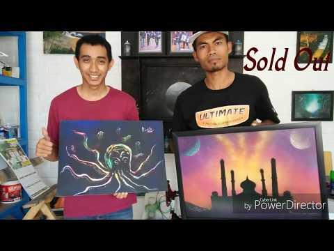 Spray Paint Indonesia. By . Rush Spray Painter .. Make Siluet Mosque moslem