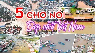 VIETNAM TRAVEL ▶ Discover all the most beautiful western Floating Markets