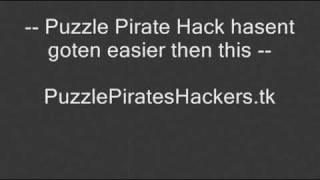 Puzzle Pirate Hack %100 Real NO BULSHIT