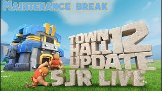 """""""Maintenance break Live"""" TH12 is Here Clash Of Clans."""