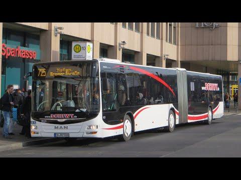 [Sound] Bus MAN NG 323 (EN-QQ 1080) der Fa Schiwy GmbH & Co KG, Hattingen (Ruhr)