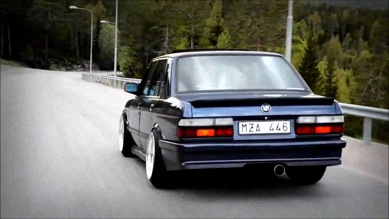 BMW e28 TRIBUTE  YouTube
