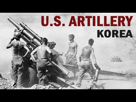 Artillery Action in the Korean War | US Army Documentary | 1951