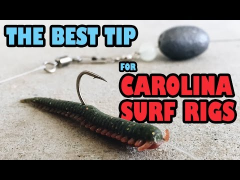BEST TIP for Casting Carolina Rigs in the Surf | It's a Cinch, Just Cast and Pinch!