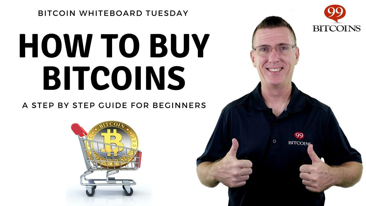 How to Buy Bitcoins - Bitcoin Whiteboard Tuesday