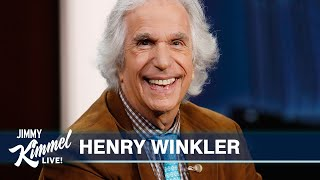 Henry Winkler on Insane Popularity of Happy Days, Shooting Barry & Working with Wes Anderson