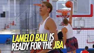 LaMelo Ball JBA Practice 100% READY TO BREAK ANKLES + Mater Dei vs Chino Hills 2017