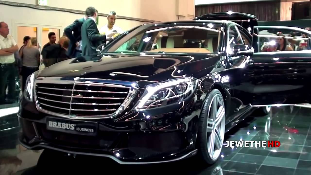 Mercedes Brabus 850 6 0 Biturbo Ibusiness S Class Youtube